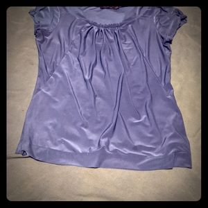 The limited beautiful teal buttery silky blouse